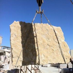 Tranche - Carrière en Égypte - pierre naturelle pour dallage intérieur et extérieur