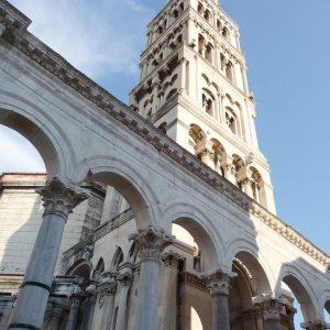 Palais de Dioclétien en Croatie