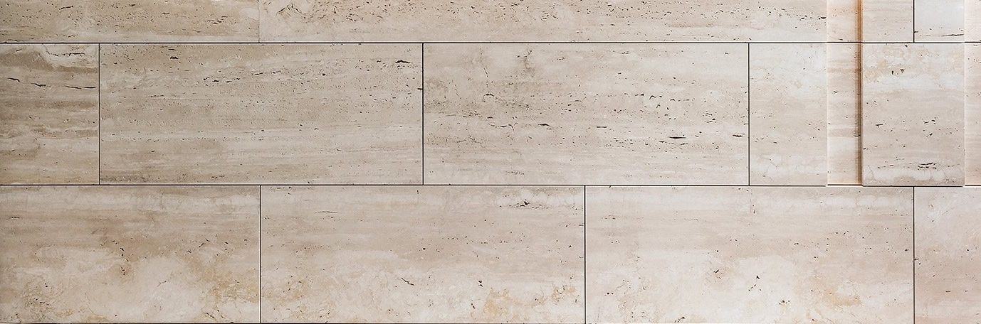 Travertin Navona blanc - Créa Stone
