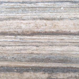 Marbrures du travertin gris silver