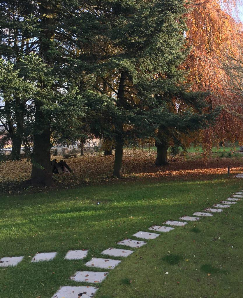Jardin en pierre