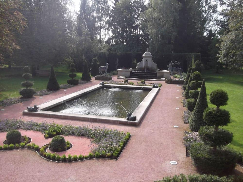 Pierre pour jardin et parc
