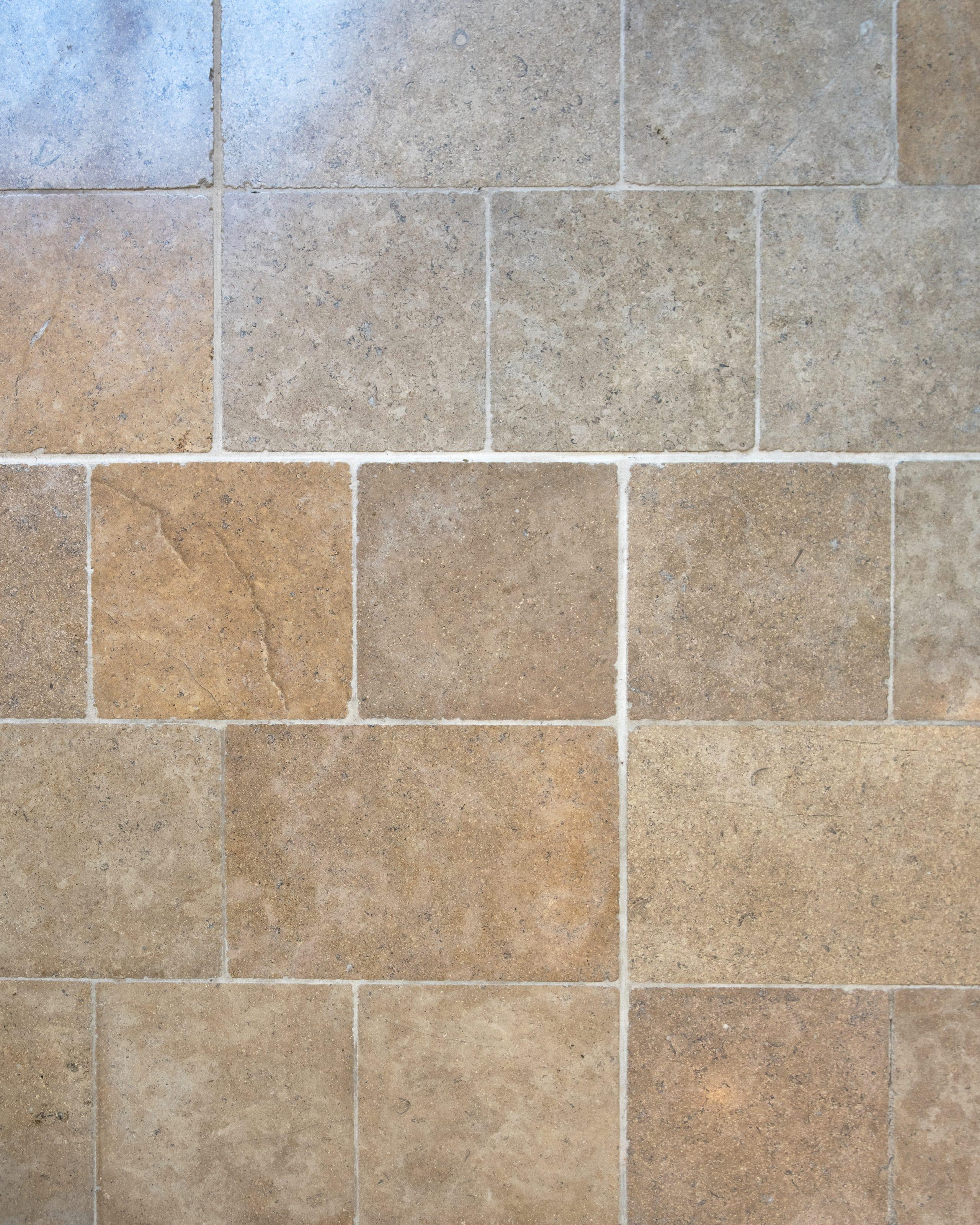 Dalles en pierre naturelle beige