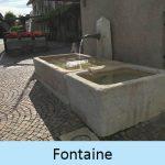 Fontaine en pierres naturelles