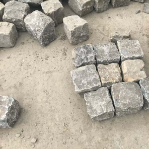Pavés en pierre- Grès