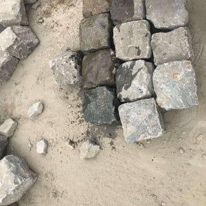 Pavés en pierre naturelle