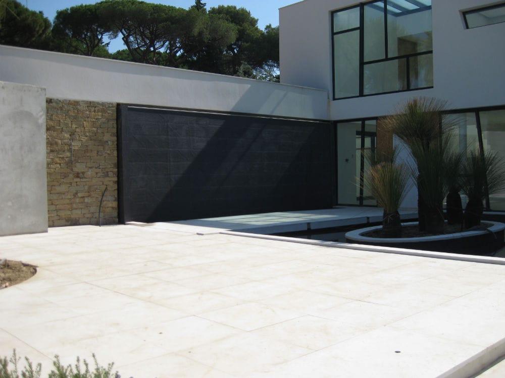 sol en pierre beige extérieur- Créma Nova